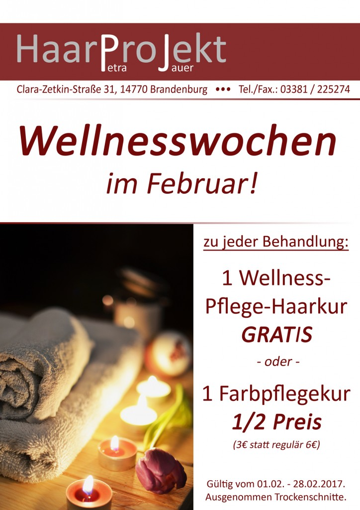 Wellnesswochen Februar 2017
